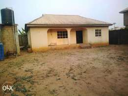 3Bedroom apartment Self compound for rent at Abiola farm ayobo lagos
