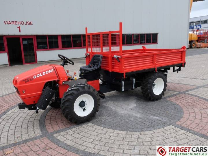 Goldoni Transcar 28RS Utility 4WD Tipper 3-Way Dumper NEW