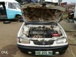 toyota corolla 1997 stripping for parts or selling complete