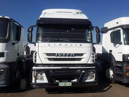 2010 IVECO stralis 430 double diff truck for sale