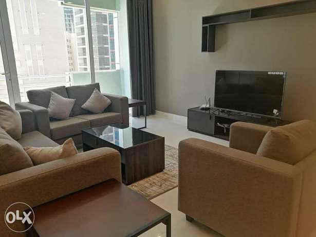 Spacious Brand New 2 BR FF Apartment+Balcony in Juffair For Rent