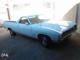 Ford ranchero 500 v8 auto to swop for modern bakkie