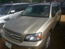 Perfectly used toyota highlander 2006 buy n drive tincan cleared