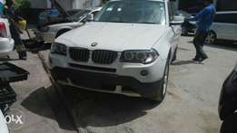 BMW x3 pale white KCN number 2011 model loaded with, good music syste