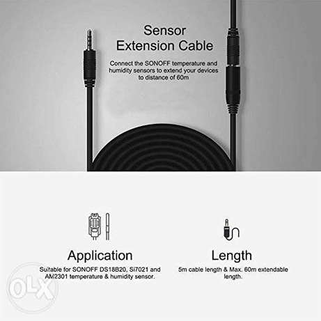 Sonoff Extension Cable AL560