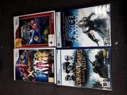 Pc n Wii games R70 each