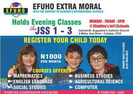 Efuho Extra Moral Classes