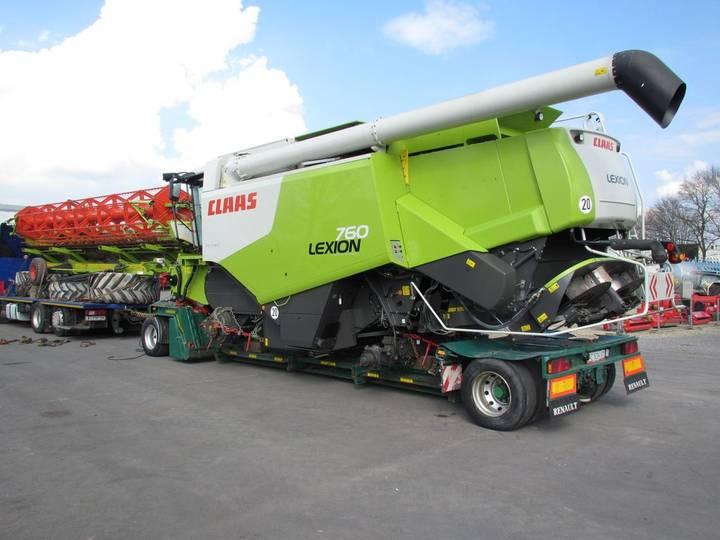 Claas Lexion 760 - 2012