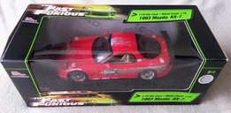 Fast and Furious (ERTL Racing Champions) 1:18 Scale Mazda RX-7 (MINT)