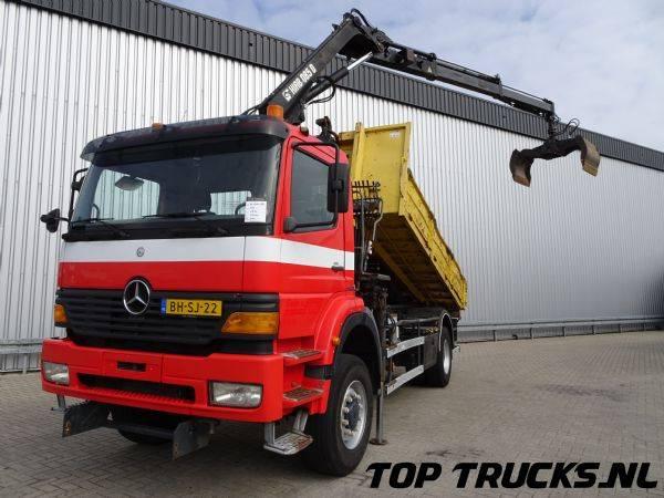 Mercedes-Benz Atego 1828 AK Allrad - HIAB 8,5 TM Kraan, Crane, Kran, Le... - 1999