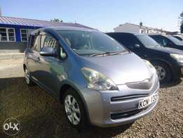 Toyota Ractis 2010 Blue in color at 800,000/- KCN