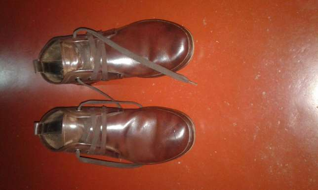 Original brown used leather shoes Kampala - image 3