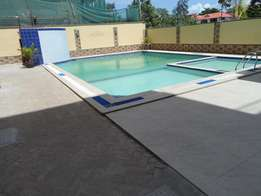 3 bedroom fully furnished apartment with a pool for long term let