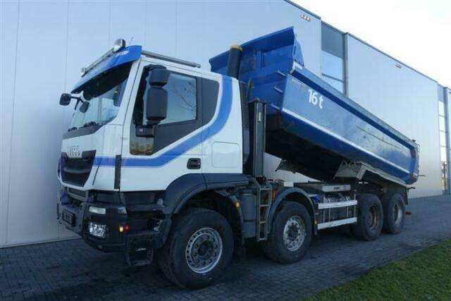 Iveco Trakker 500 8x4 Full Steel Hub Reduction Euro 6 - 2014