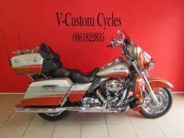Absolute Mint Condition Ultra Classic CVO 2009 Model!