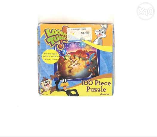 Looney tunes 100 pieces puzzle