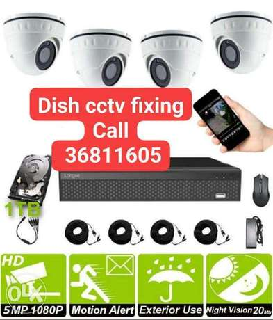 Good offer security camera fixing call me