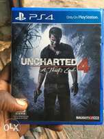 Relatively New Uncharted 4 for PS4