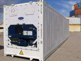 Dry containers and refrigerated containers(reefers)