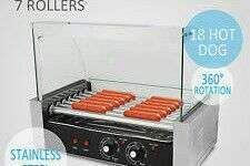 Commercial industrial hot dog machine