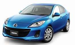 Hatchback New Shape Nice Unique Color Mazda Axela just arrived on sale