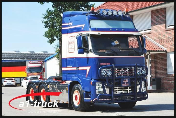 Volvo FH 16/660 XL, 6x4 Hydraulik, E4, Leder 70t - 2009