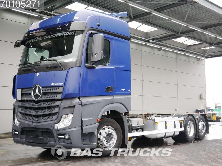 Mercedes-Benz Actros 2545 L 6X2 Retarder Liftachse Powershift Euro 6 - 2014