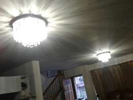 chandelier lights fitting