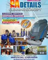 PA details cleaning concept