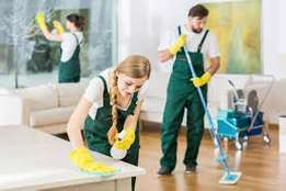 We provide a variety of cleaning services for commercial clients