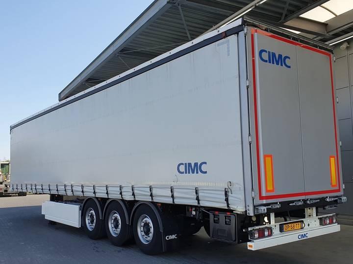 CIMC SG 03 Liftachse Edscha Palettenkasten BPW - 2017