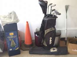 Hippo golf set plus bag for sale