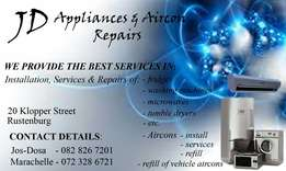 JD Appliances  Aircon Service