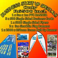 Do you need advertising banners and flags for your new business