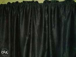2 coloured complete set curtain for sale