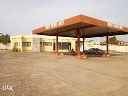 Modern filling station for rent at Ring road. Osogbo.