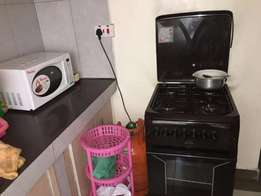 cooker and microwave
