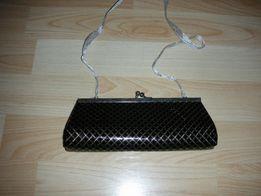 246949a1da9a3 czarna malutka wieczorowa torebka na wstążeczce