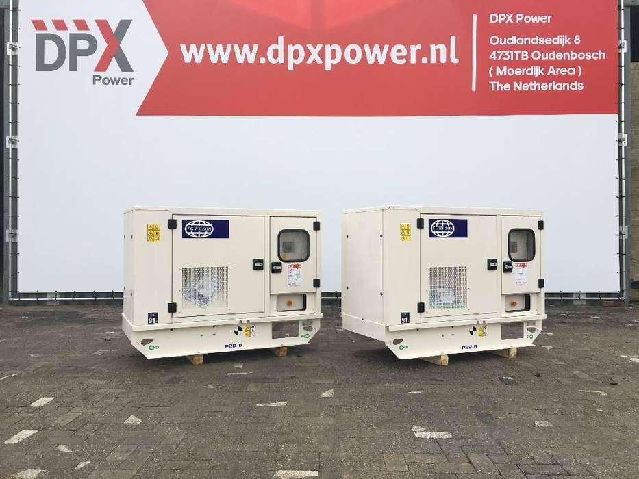 FG Wilson P22-6 - 22 kVA Generator - DPX-16002 - 2019