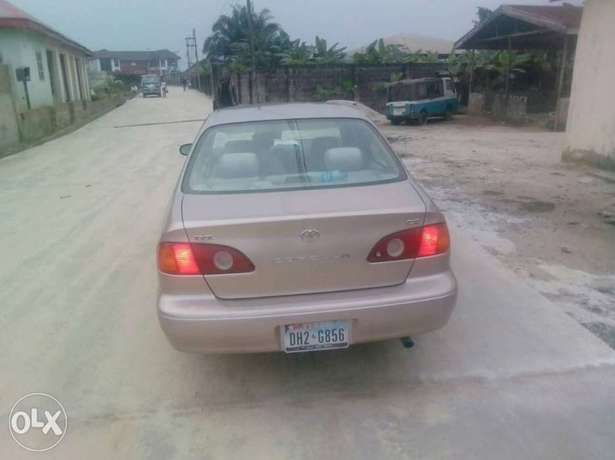 Tincan Cleared 2001 Toyota Corolla CE (gold color) Port Harcourt - image 4