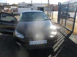 Polo VW 1.4 2012Model,5 Doors factory A/C And C/D Player Central Luck