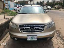 Super Clean Gold 2005 Infinity FX35