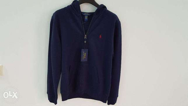 Ralph Lauren Sweater with Hoodie - Brand new