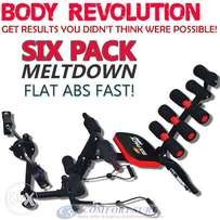 6 in 1 ABS six pack care exercise bench,Home Gym machine,free delivery