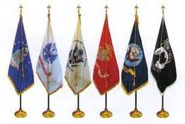 interested complete indoor flag and flagpole kits that include your