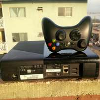 Slim xbox360 with 10 games latest for sale