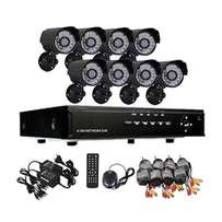 CCTV DVR Kit - 8CH (3G & Internet remote viewing)