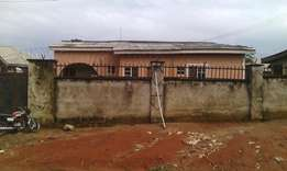 Three bedroom fully detached bungalow at Lugbe FHA