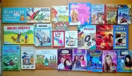 22 Reading books for kids. R200 for the lot.