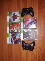 Xbox 360 games and remotes for sale